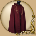 Costume - Embroidered Wool Cape